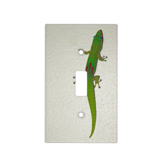 Gold Dust Gecko Light Switch Cover