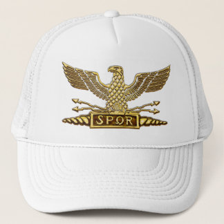 Gold Eagle Roman Legion Trucker Hat