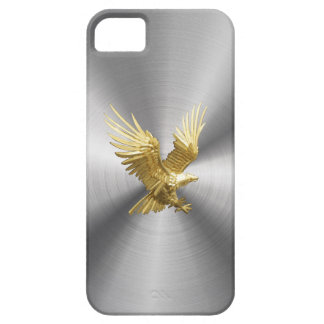 Gold Eagle Steel iron iPhone 5 Case