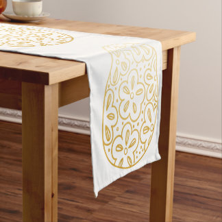 Gold Easter Egg Table Runner