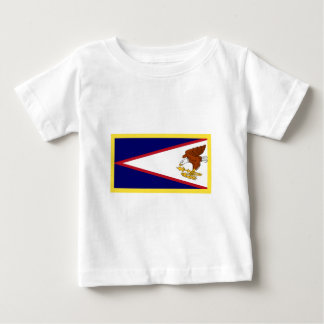 Gold Edge American Samoa Flag Baby T-Shirt