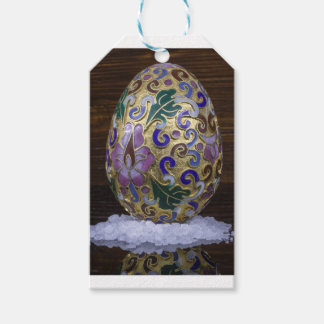Gold Egg Gift Tags