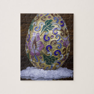 Gold Egg Jigsaw Puzzle