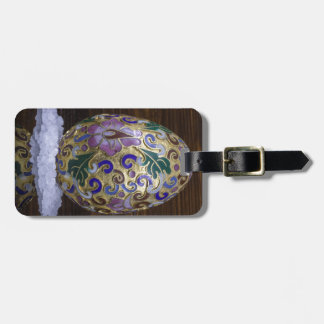 Gold Egg Luggage Tag