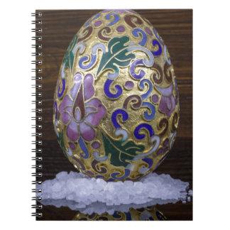 Gold Egg Notebooks