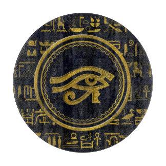 Gold Egyptian Eye of Horus - Wadjet Boards