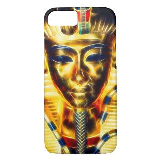 Gold Egyptian Pharaoh Energy Fractal iPhone 7 Case