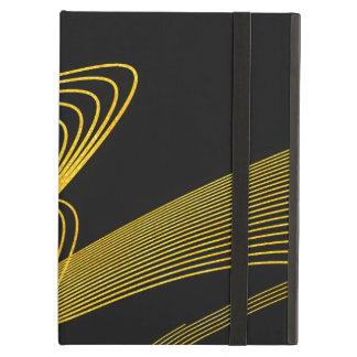 Gold Elegant-BK- iPad Air Case with No Kickstand