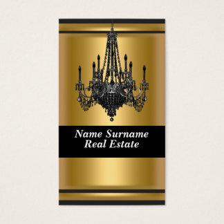 Gold Elegant designer Business Card