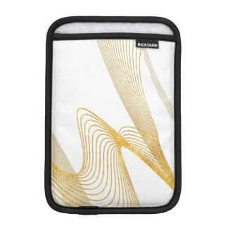 Gold Elegant -WH- Customize BG iPad Mini  Vertical Sleeve For iPad Mini