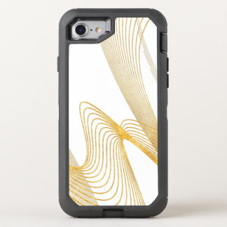 Gold Elegant -WH- OtterBox Defender iPhone 7 Case