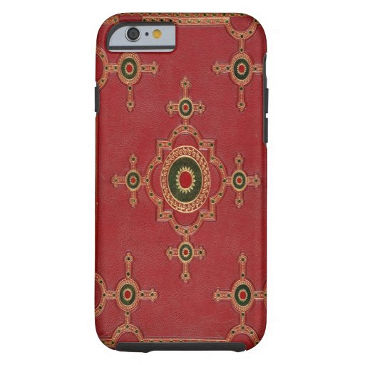 Gold Embossed art iPhone 6 case