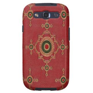 Gold Embossed art Samsung Galaxy S3 Case
