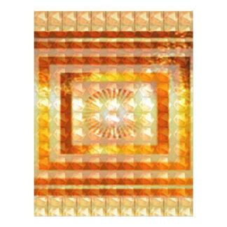 GOLD Energy ART - Smile Enjoy Share Joy Happy GIFT Letterhead