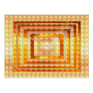 GOLD Energy ART - Smile Enjoy Share Joy Happy GIFT Postcard