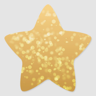 Gold Faux Sticker