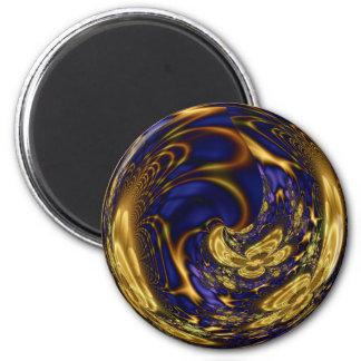 Gold Filigree Sphere Magnet