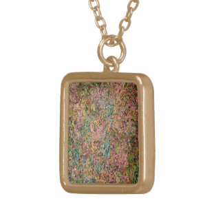 Gold finish necklace