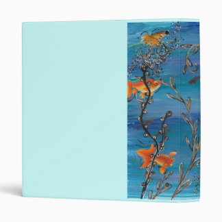 Gold Fish Bowl Binder