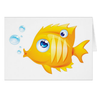 Gold Fish Greeting Cards