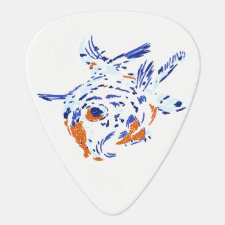 Gold Fish Guitar Pick