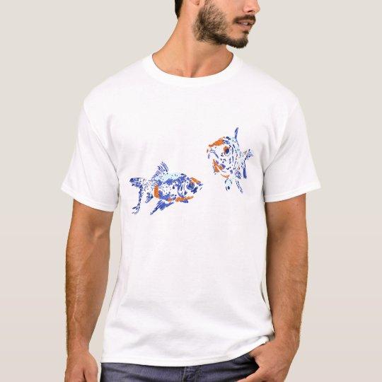 Gold Fish Illustration T-Shirt