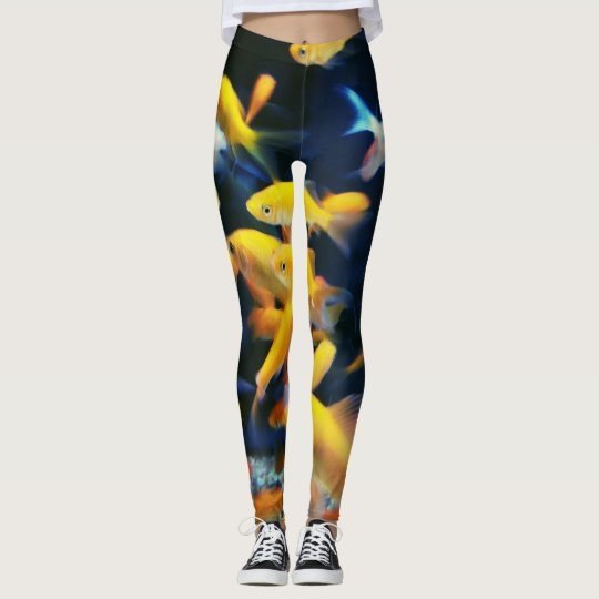 Gold Fish leggings