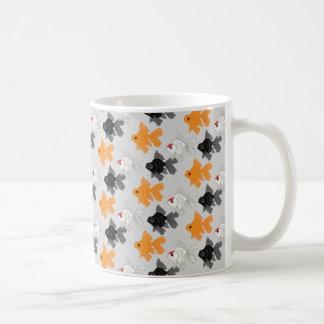 gold fish sulks coffee mug