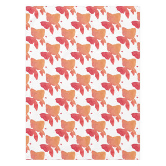 gold-fish-sunset design tablecloth