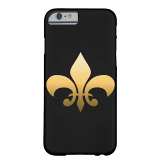 Gold Fleur de Lis Barely There iPhone 6 Case