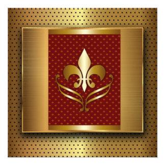 Gold Fleur De Lis Photo Print