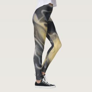 82448931f8c364 Women's Black White Swirl Gifts Leggings & Tights | Zazzle CA