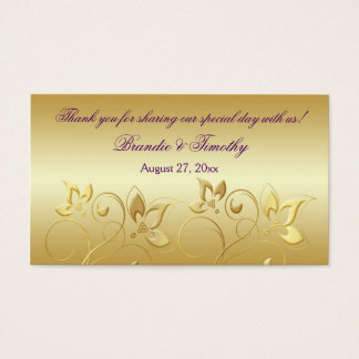 Wedding Gift Tags Canada : ... And Gold Business Cards and Business Card Templates Zazzle Canada