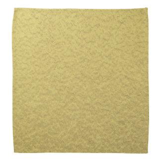 Gold Foil Background Texture Bandana