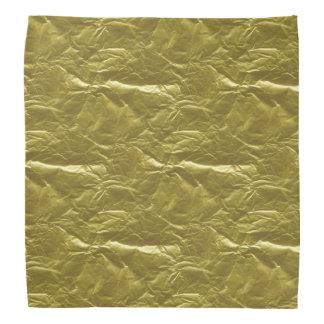 Gold Foil Bandannas