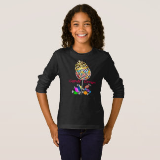 Gold Foil Candy Crown Girls fashion T-Shirt