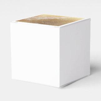 gold foil marble favor box