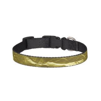 Gold Foil Pet Collar