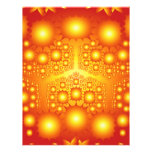 Gold Fractal Explosions: Flyer Design