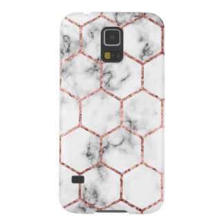 Gold,geometry,marble,pattern,modern,elegant,chic,e Galaxy S5 Case