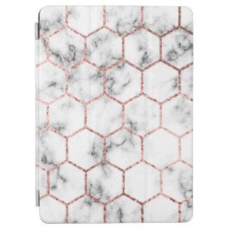 Gold,geometry,marble,pattern,modern,elegant,chic,e iPad Air Cover