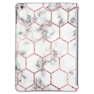 Gold,geometry,marble,pattern,modern,elegant,chic,e iPad Air Covers