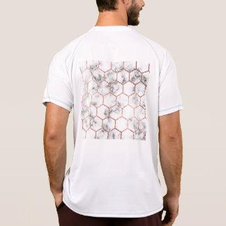 Gold,geometry,marble,pattern,modern,elegant,chic,e T-Shirt