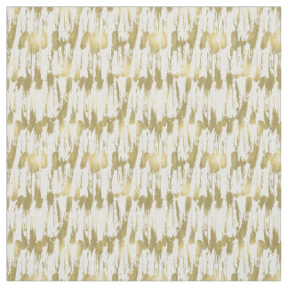 Gold Glam Abstract Fabric