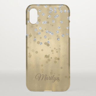 Gold Glam iPhone X Case