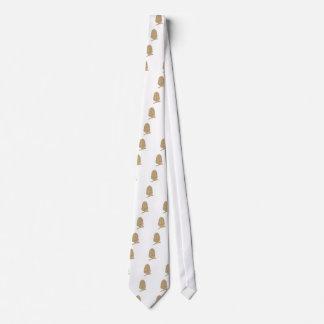 Gold Glitter Acorn Tie