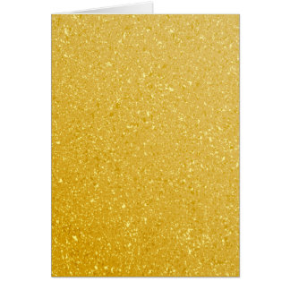 GOLD GLITTER BACKGROUND CARD