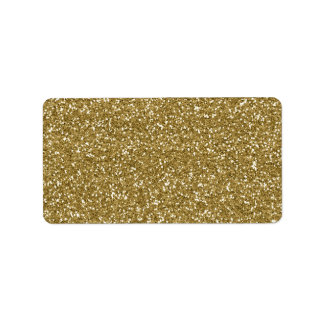 Gold Glitter Background Template
