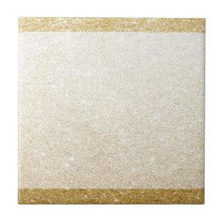 gold glitter blank template for customization tile