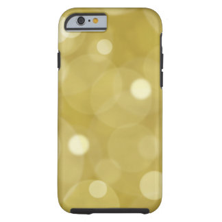Gold glitter bokeh patttern electronics tough iPhone 6 case